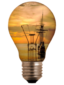 Ship-Sea-Sunlight-Light-Bulb